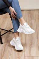 Tonny Black Beyaz Kadın Sneaker DNZ-1