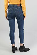 Colin's KADIN 760 Dıana Yüksek Bel Dar Paça Super Slim Fit Koyu Mavi Kadın Jean Pantolon CL1046126