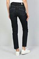 Colin's KADIN 703 Carla Orta Bel Düz Paça Slim Fit Koyu Mavi Kadın Jean Pantolon CL1046991