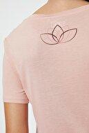 Koton Kadın Sarı Büzgülü T-Shirt