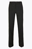 Marks & Spencer Erkek Gri Regular Streç Ekose Pantolon T18004234Y