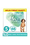 Prima Pure Bebek Bezi 5 Beden 68 Adet Aylık Fırsat Paketi