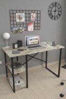 Bofigo 60x120 Cm 2 Raflı Çalışma Masası Bilgisayar Masası Ofis Ders Yemek Masası Efes