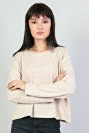 Colin's Bej Kadın Tshirt U.kol CL1047371
