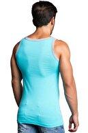 Cipo&Baxx CU104 Pamuklu Esnek Açık Mavi Erkek Sporcu Atlet