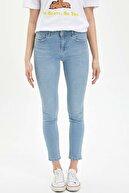 Defacto Rebeca Skinny Fit Yırtık Detaylı Jean Pantolon