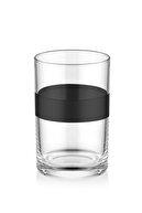 The Mia Dark Kahve Yanı Su Bardağı 6'lı Set