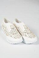 Moda Değirmeni Beyaz Kadın Sneaker Md1001-101-0001