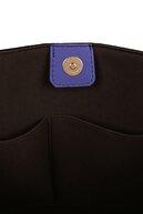 Beverly Hills Polo Club Kadın Desenli Tote Çanta Siyah, Lila