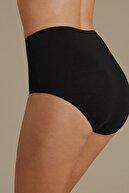 Marks & Spencer Kadın Siyah 4'lü Saf Pamuklu Full Brief Külot T61001080