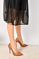 Shoes Time Taba Kadın Klasik Topuklu Ayakkabı 18Y 708