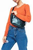 Benetton Petrol - Siyah Kadın Postacı Çantası BNT134