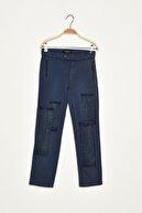 Guess Collection Kadın Mavi Pantolon L81B03W9MC0