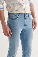 Avva Erkek Açık Mavi Slim Fit Jean Pantolon A11y3558
