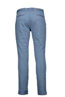 Collezione Indigo Erkek Haki Yan Cep Spor Düz Slim Pantolon
