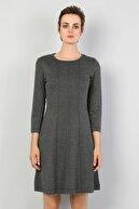 Colin's KADIN Slim Fit Kadın Antrasit Elbise CL1047316