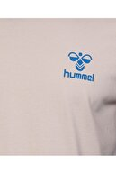 HUMMEL Kevins Bej Erkek Kısa Kollu T-Shirt
