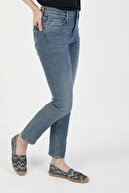 Colin's KADIN 703 Carla Orta Bel Düz Paça Slim Fit Mavi Kadın Jean Pantolon CL1049664