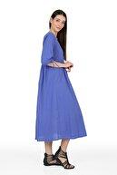 Pitti Kadın Mor Elbise 51044