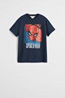 Mango Lacivert Erkek Çocuk Spiderman Tişört 53040991