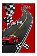 Jungle Trafik Parkurlu 150x230 Çocuk Oyun Halısı