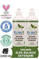 Ecos3 Organik Elde Bulaşık Deterjanı 2'li Set -2 x 500 ml