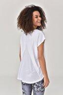 bilcee Beyaz Kadın T-shirt  GS-8028