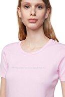 Benetton Kadın Yazılı Basic Tshirt 312013GA2E16A2-14P