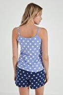 Penti Kadın Mavi Pijama Takımı