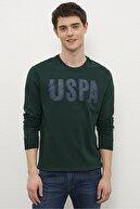US Polo Assn Yesıl Erkek Sweatshirt G081Sz082.000.1219202