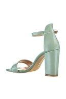 Soho Exclusive Yeşil Kadın Klasik Topuklu Ayakkabı 15976