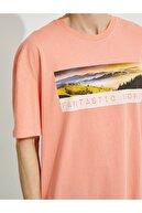 Koton Erkek Baskili Pamuklu T-Shirt