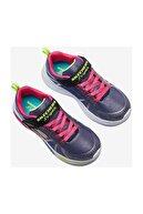 Skechers SHIMMER BEAMS-SPORTY GLOW Büyük Kız Çocuk Lacivert Spor Ayakkabı