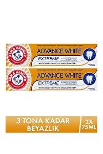3 Tona Kadar Beyazlatıcı Diş Macunu - Advance White 75 ml - 2'li   501072422222