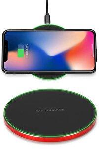 Apple Iphone X Xs Xr 8 Plus 11 12 Pro Max Kablosuz Wireless Şarj Aleti Masaüstü