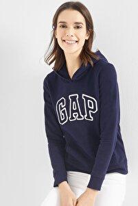 Kadın Logo Kapüşonlu Sweatshirt 527507