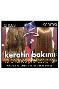 Valentınes Professıonal Keratin Krem + Keratin Botox Şampuan 2li Set ( Brezilya Fönü)