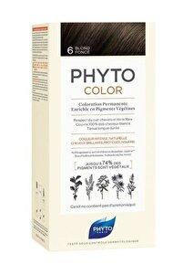Color 6 Koyu Kumral Saç Boyası Yeni Seri