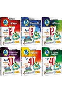 Lgs 8 Sınıf Deneme Türkçe-mat-fen-inkılap-ingilizce-din 6 Kitap Set