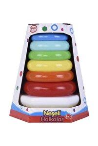 Neşeli Renkli Halkalar Oyuncak Seti
