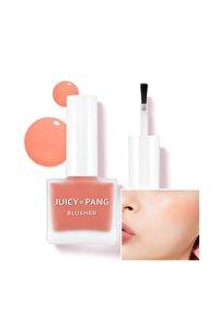 Doğal Görünüm Sunan Nemlendirici Likit Allık 9g. APIEU Juicy-Pang Water Blusher (CR01)