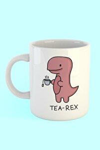 Tea Rex Baskılı Kahve Kupası