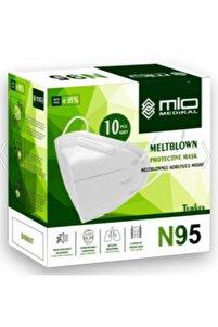 Mio Medikal Maske N95 Nr Özellikli Ce Ve Iso Sertifikalı 50 Adet