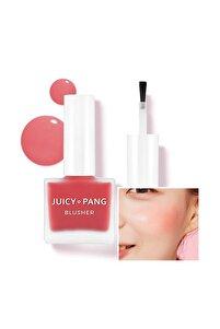 Doğal Görünüm Sunan Nemlendirici Likit Allık 9g. APIEU Juicy-Pang Water Blusher (RD01)