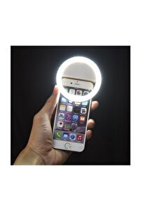 Genx Selfie Işığı 3 Kademeli Led Aydınlatma Telefon Aparatı