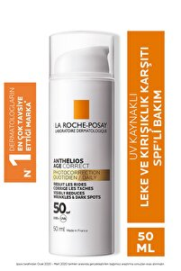 Anthelios Age Correct Light Cream Spf50 50 ml