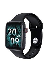 Hw22 Akıllı Saat Healthy Lifestyle 44mm Bluetooth Türkçe 1.75inch Siyah