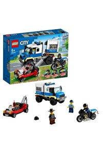 ® City Mahkum Nakliye Aracı 60276 - Çocuklar için Oyuncak Yapım Seti 244 Parça