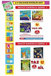 Mucit Karınca Yaz-sil Kitaplar Süper Avantaj Paketi- 6 Kitap