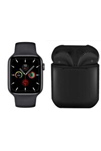 Watch 6 Plus Enson Seri 2021 Bluetooth Kulaklık Hediyeli Android Ve Ios Uyumlu
